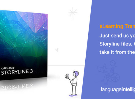 eLearning Translation: Just Send Us Your Storyline Files- We'll Take It From There
