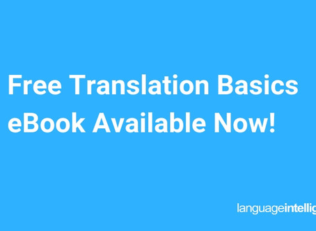 Free Translation Basics eBook Available Now!