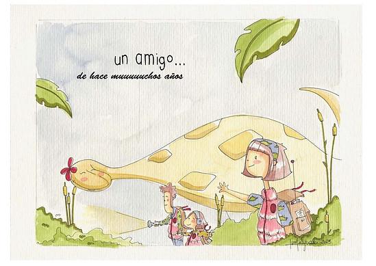 Ilustración a mano de Irene Sanjuán