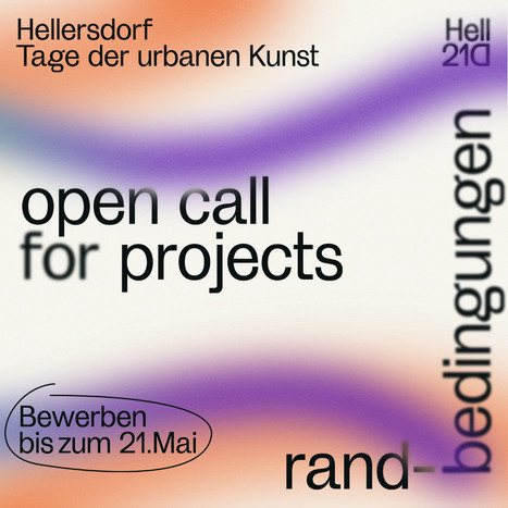 TAGE DER URBANEN KUNST: OPEN CALL FOR PROJECTS