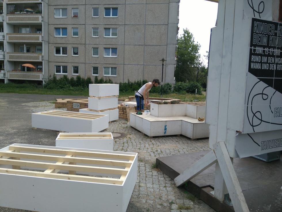 Aufbau des Kosmosforums