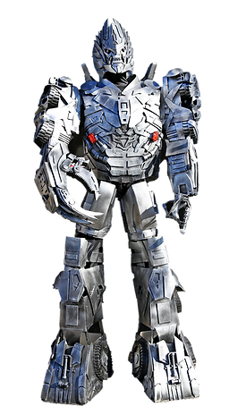 Silver Robot