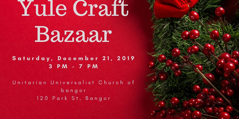 Yule Craft Bazaar