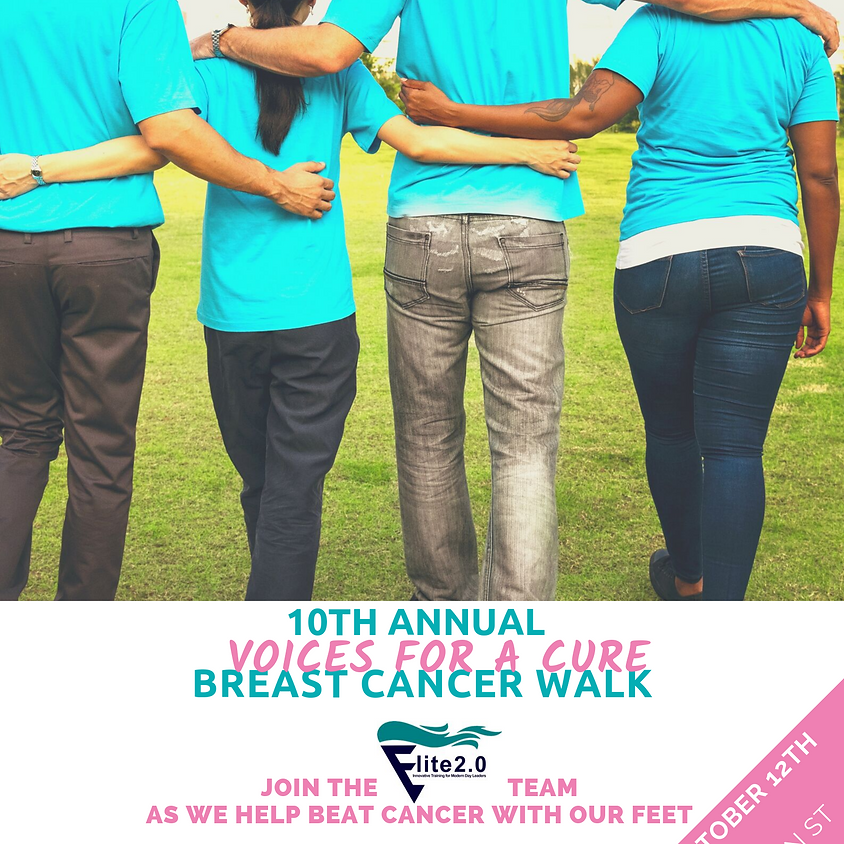 Join Team Elite 2.0 - Breast Cancer Walk