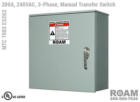 Three-Phase 200A MTC 7003 ES2K2 Closed