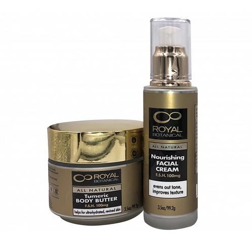 Royal Botanical Nourishing Facial Cream
