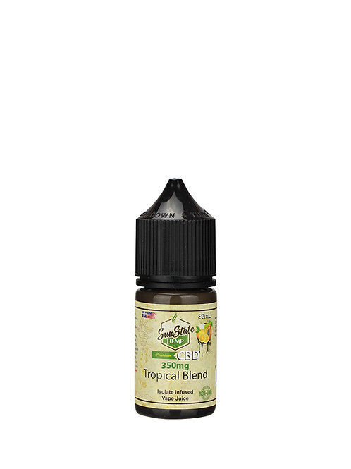 Sun State Vape Juice Tropical Blend 350mg