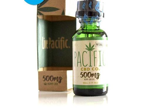 Pacific CBD Co. CBD Drops 500mg Peppermint