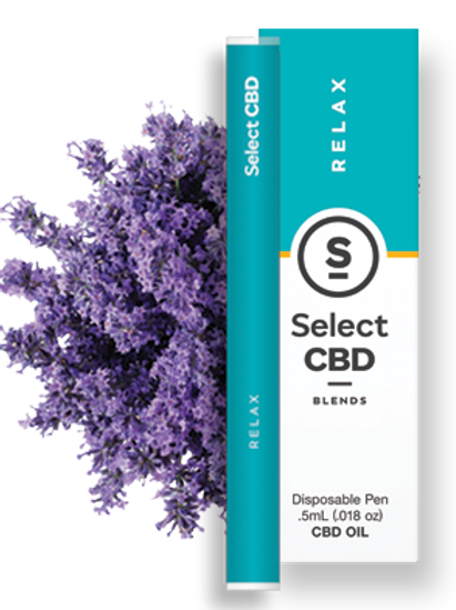 Select CBD Relax | Lavender Vape Pen - 250mg