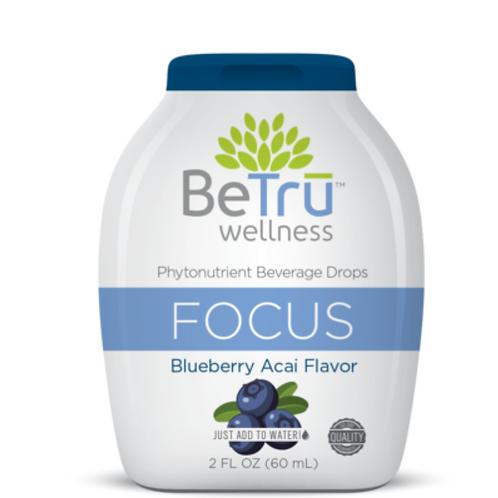 BeTru Focus Beverage Drops
