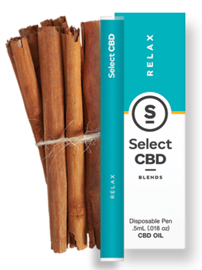 Select CBD Relax | Cinnamon Vape Pen - 250mg