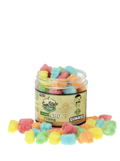 Sun State Gummy Bears 750mg