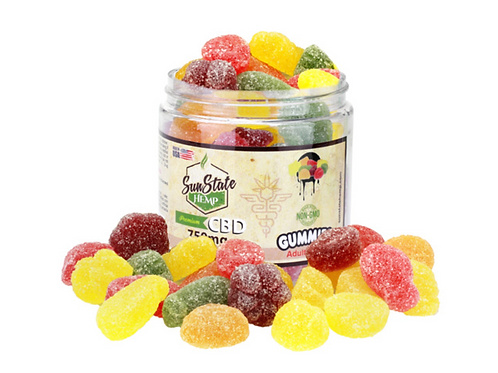 Sun State Fruit Slices 750mg