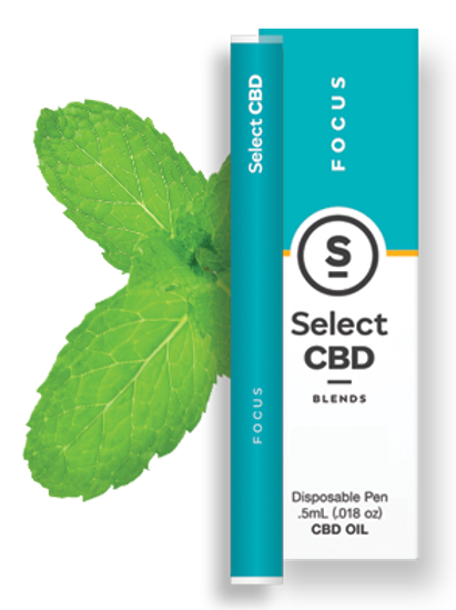 Select CBD Focus | Spearmint Vape Pen - 250mg