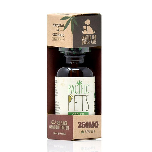 Pacific Pets CBD Tincture Beef 250mg
