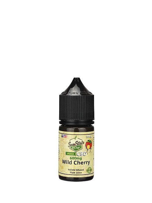 Sun State Vape Juice Wild Cherry 600mg