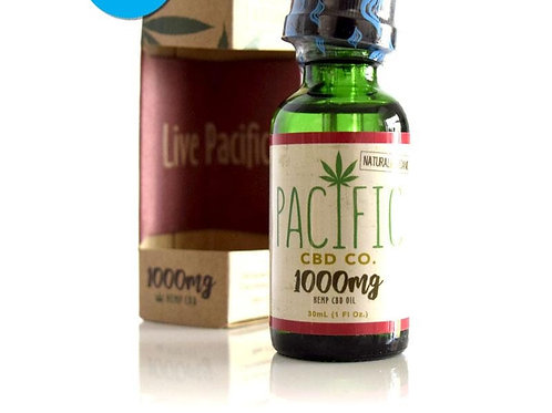 Pacific CBD Co. CBD Drops 1000mg Strawberry