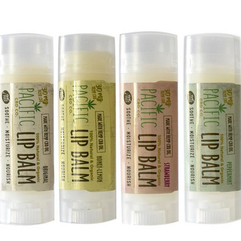 Pacific CBD Co. Lip Balm: 30MG