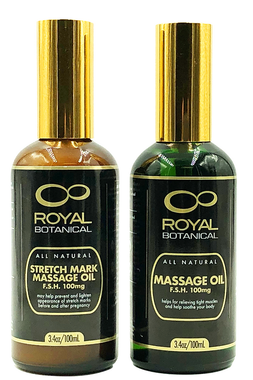 Royal Botanical Massage Oil