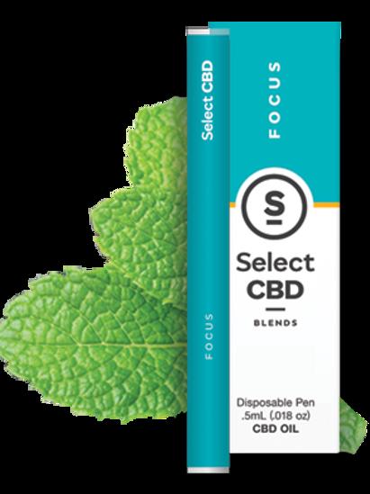 Select CBD Focus | Peppermint Vape Pen - 250mg