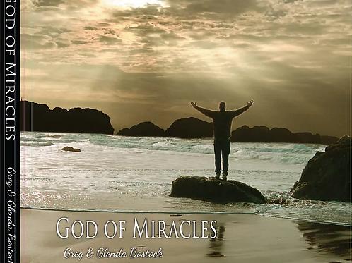 God of Miracles Chord Charts (Worship Team License)