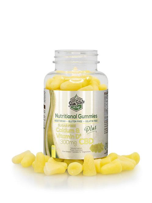 Sunstate Hemp Sugar Free Calcium & Vitamin D 300mg