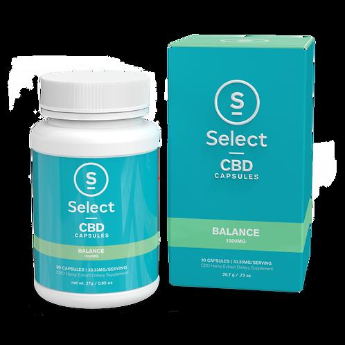 Select CBD Balance Capsules