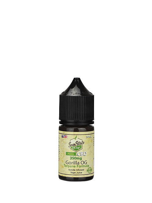 Sun State Vape Juice Gorilla OG 350mg