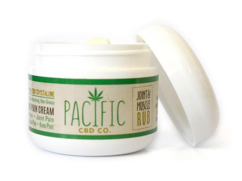 Pacific CBD Co. Joint & Muscle Rub 125mg