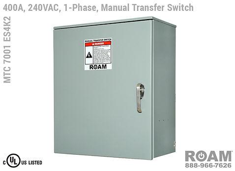 Single-Phase 400A MTC 7001 ES2Kv - Closed