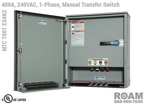 Single-Phase 400A MTC 7001 ES2Kv- Open