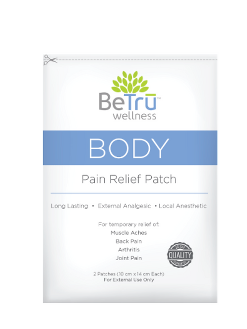 BeTru Body Pain Relief Patch
