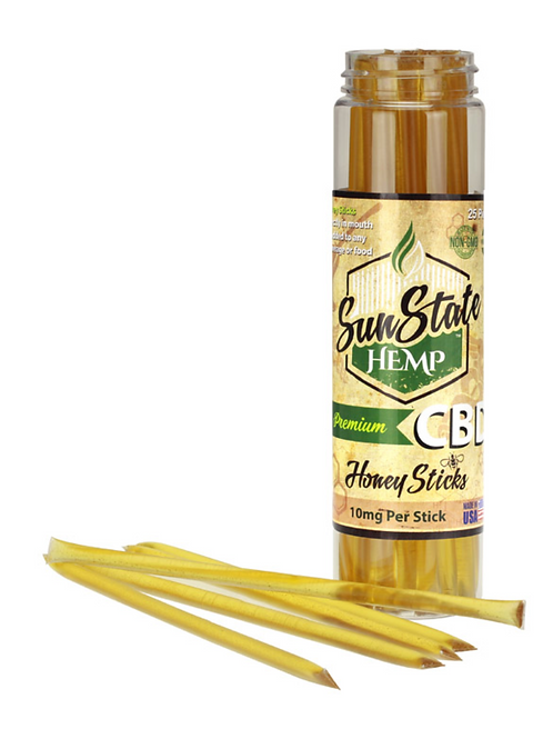 Sun State Honey Sticks 10mg - 25 Pack