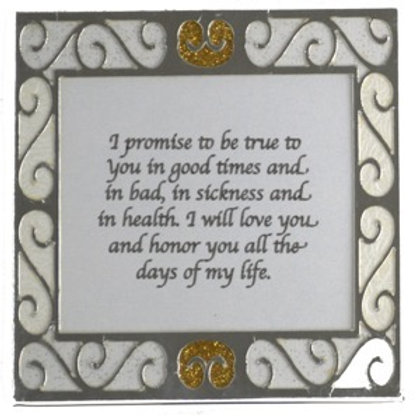 Wedding Vow Magnets