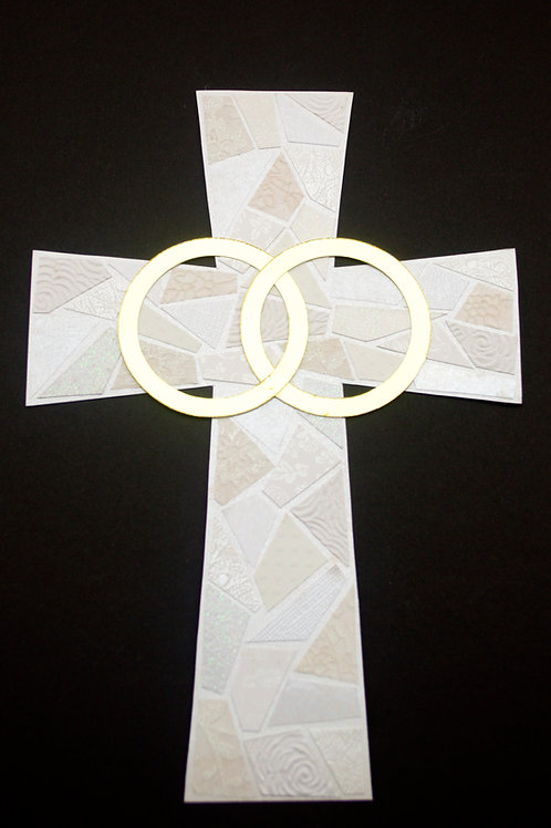 Matrimony/Anniversary Cross - Small
