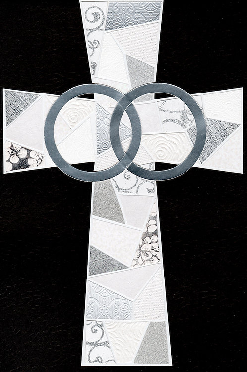 Matrimony/Anniversary Cross - Large