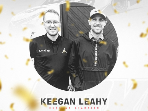 KEEGAN LEAHY WINS 2021 IRACING ENASCAR COCA-COLA SERIES CHAMPIONSHIP