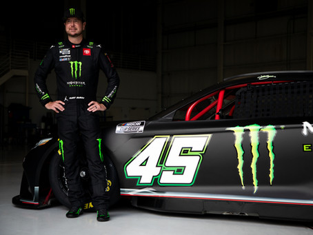 KURT BUSCH AND MONSTER ENERGY JOINING 23XI RACING IN 2022