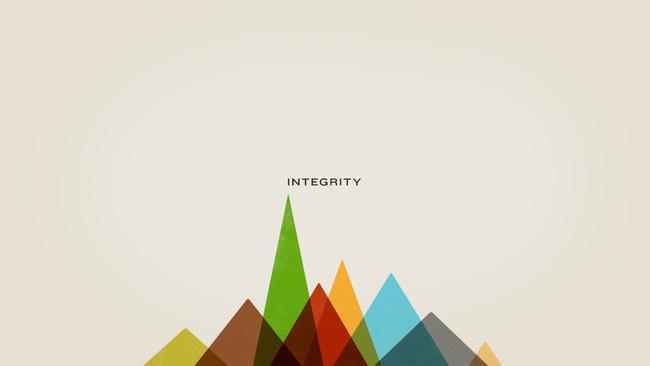 Choosing Integrity.