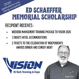 Ed Schaeffer Memorial Scholarship