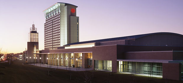 Sheraton Overland Park connected to the Overland Park Convention Center in Overland Park, Kansas