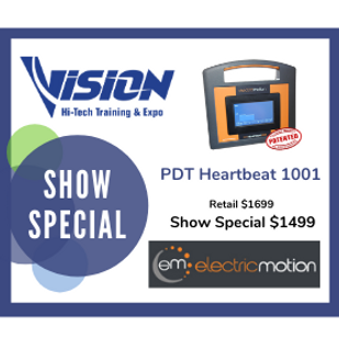 Electric Motion VISION Hi-Tech Training & Expo Show Special