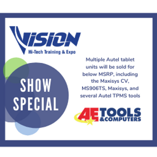 AE Tools VISION Hi-Tech Training & Expo Show Special