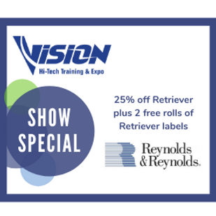 Reynolds & Reynolds VISION Hi-Tech Training & Expo Show Special