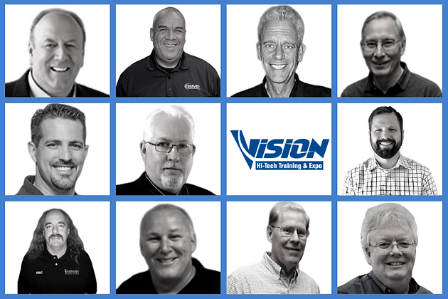 VISION Hi-Tech Training & Expo Trainers for 2020 includes Bill Haas, Gary Smith, Scot Manna, Brandon Steckler, Cecil Bullard, Aaron Stokes, Eric Zielger, Wally Mouradian, Dave Hobbs plus many more.
