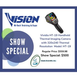 Oasis Scientific VISION Hi-Tech Training & Expo Show Special