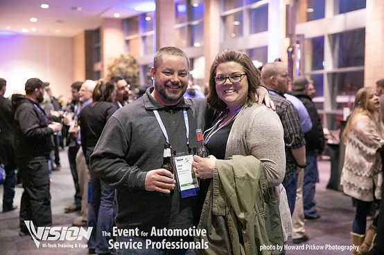 Automotive industry professionals networking and connecting with other automotive professionals.