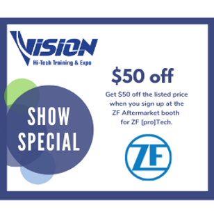 ZF VISION Hi-Tech Training & Expo Show Special