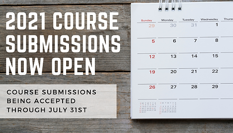 VISION 2021 Course Submissions are now open.