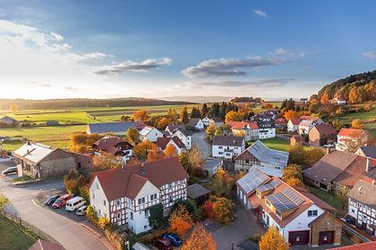 Ein kleines Dorf in Baden-Württemberg